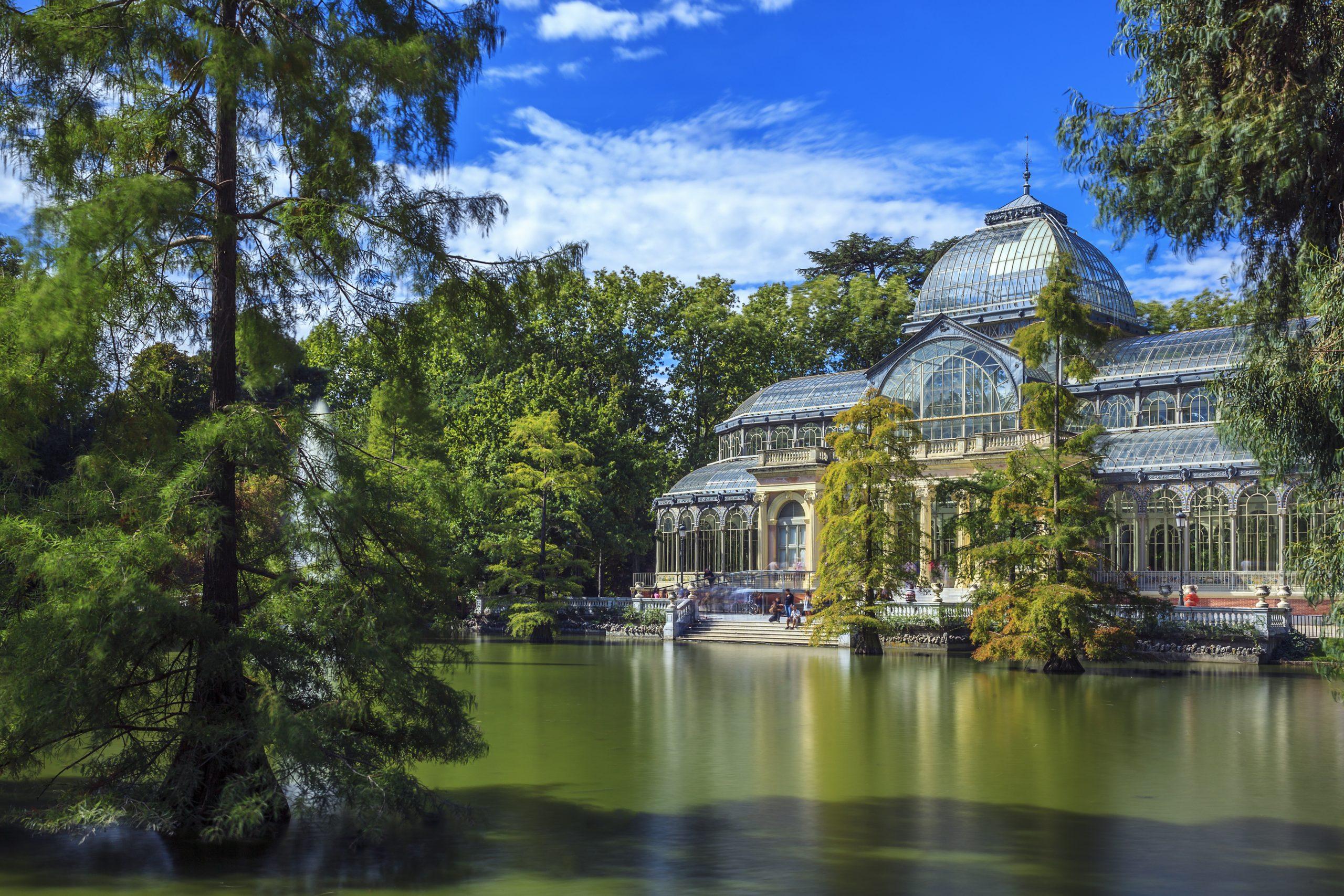 Turismo por los parques de Madrid
