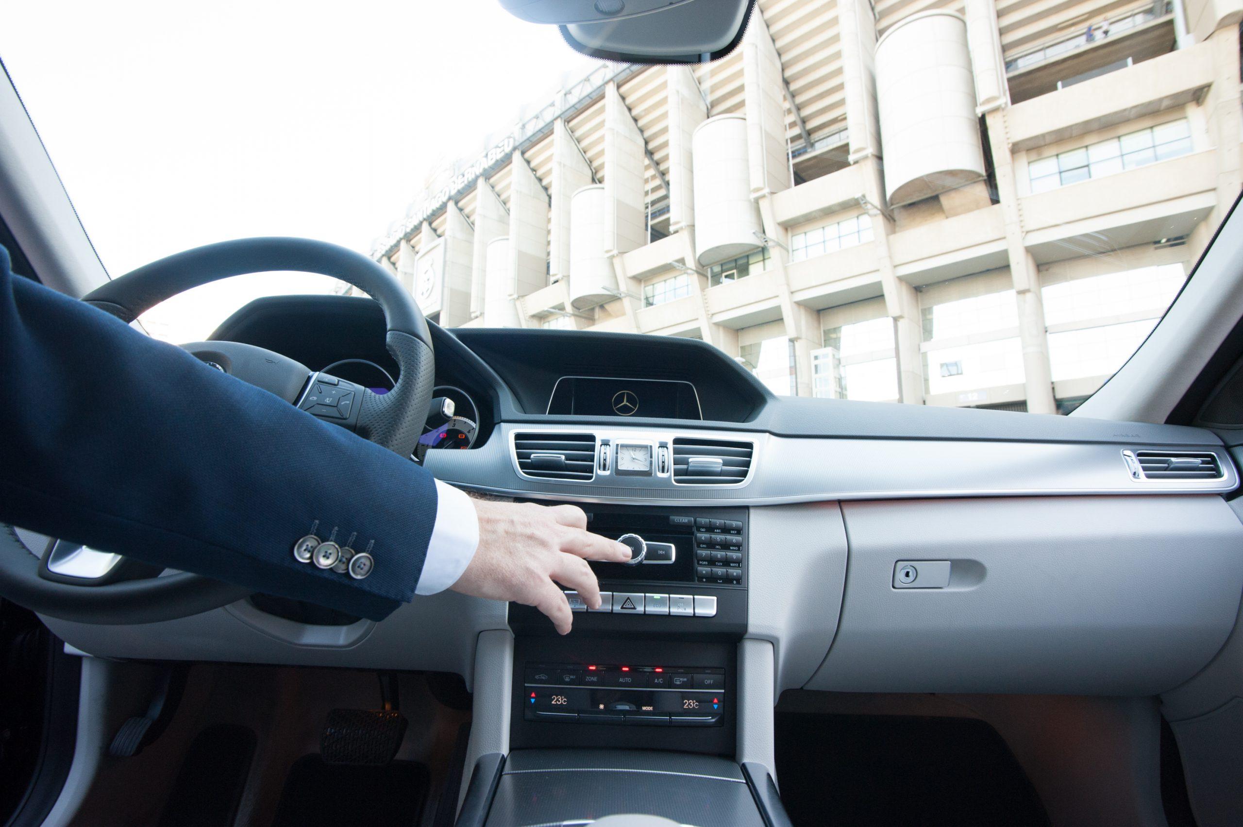Servicio de chófer en Madrid con los mejores